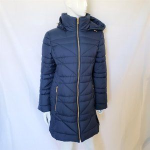 Anne Klein Double Zip Puffer Jacket size M